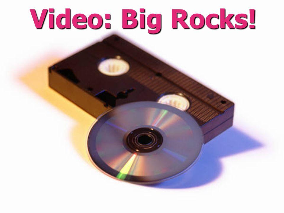 Video: Big Rocks!