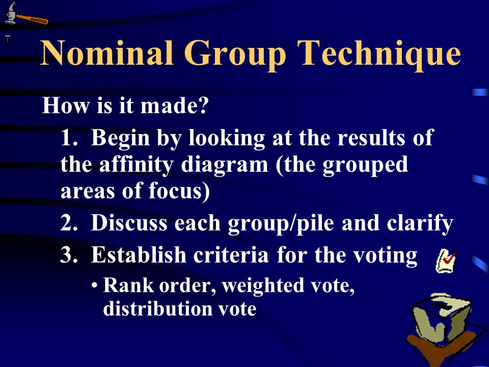 Nominal Group Technique How is it made.1.