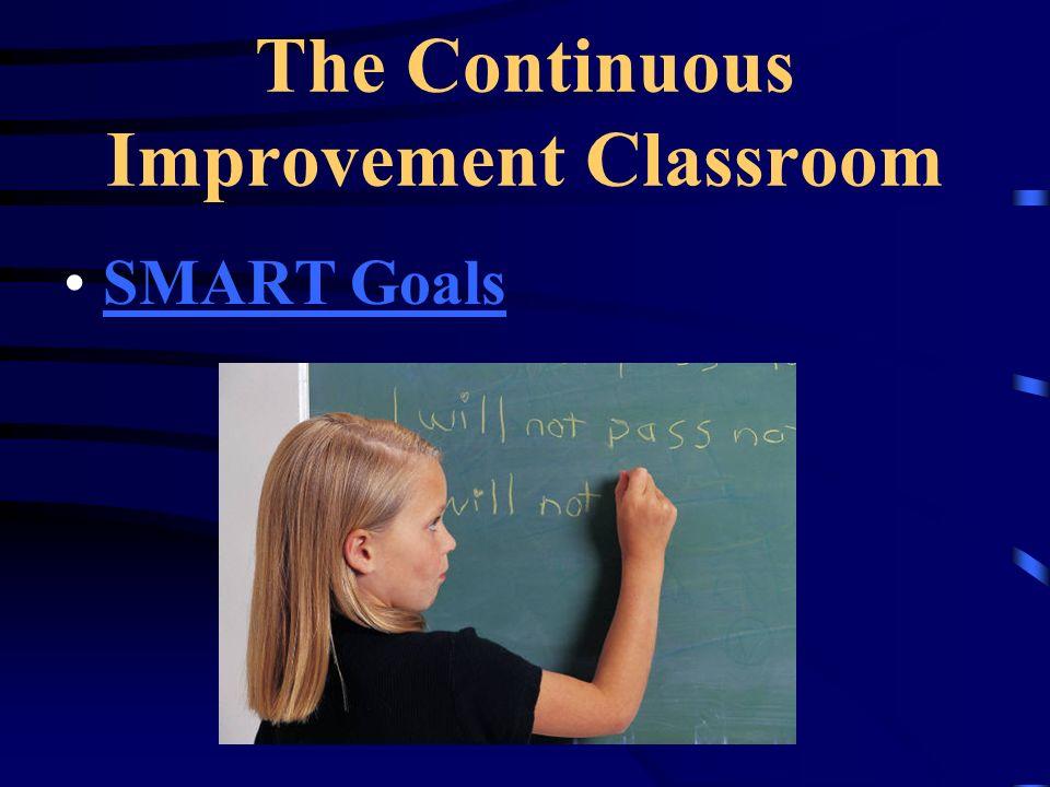 The Continuous Improvement Classroom SMART Goals
