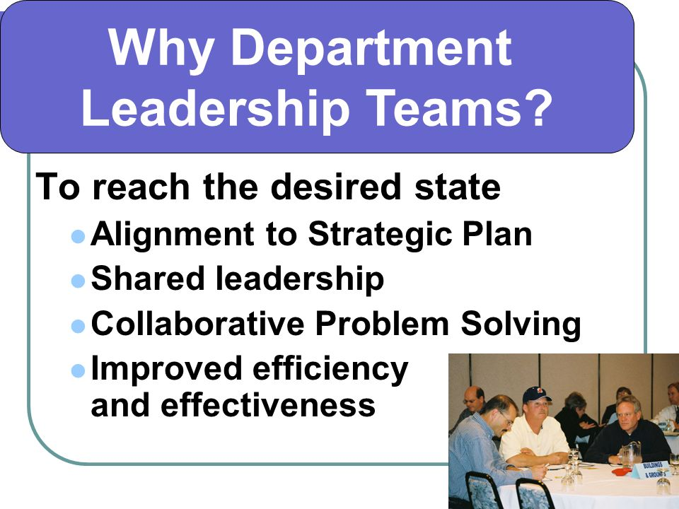 Department Plan on a Page Update the Plan on a Page Review Mission Statement Review the Goals Continue Remove Consider new goal areas based on Key Initiatives Review/Update/Add Goals for Sub-department/Work Groups