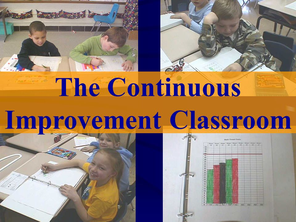 The Continuous Improvement Classroom