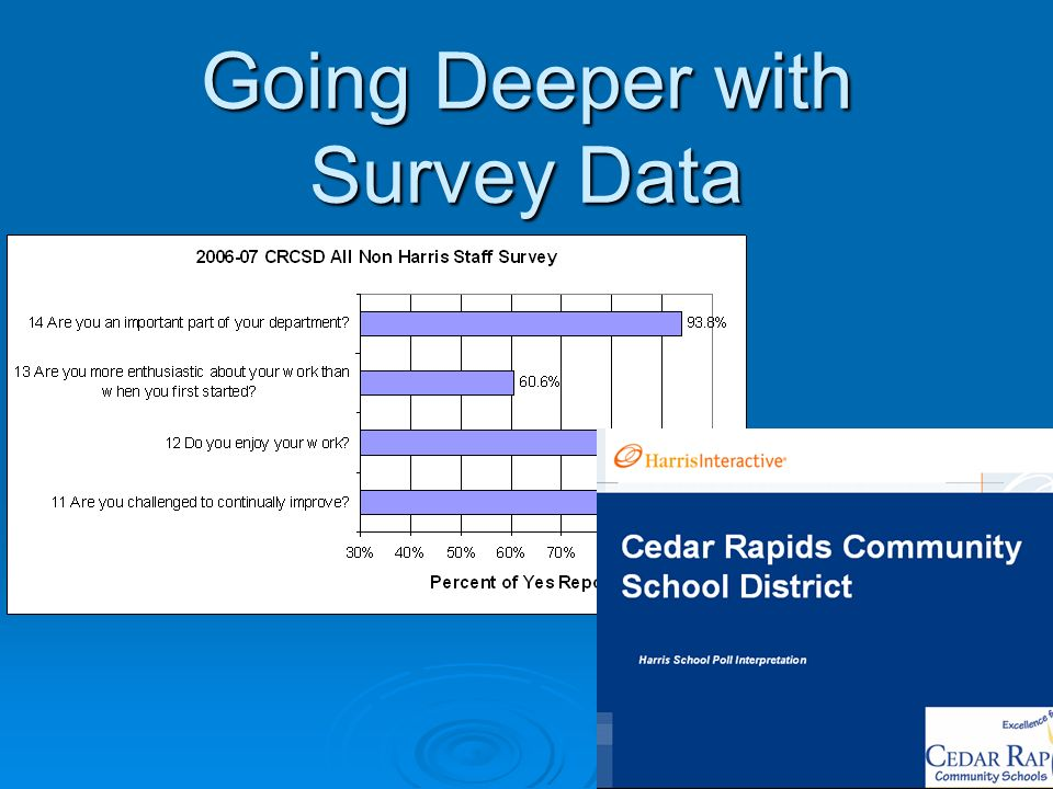 Going Deeper with Survey Data