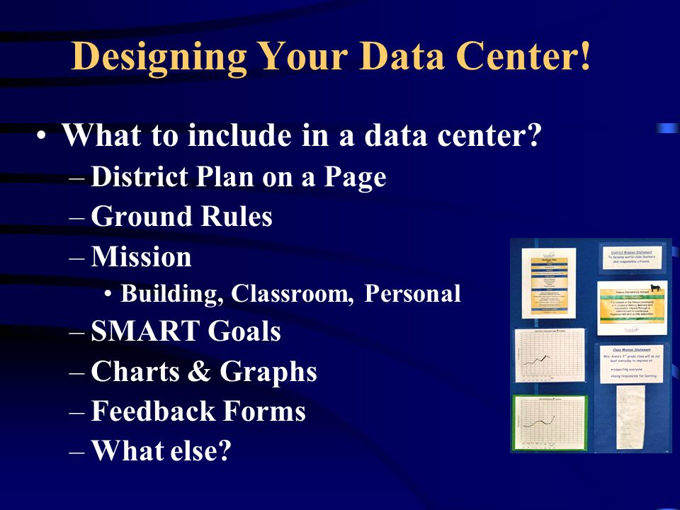 Designing Your Data Center. What to include in a data center.