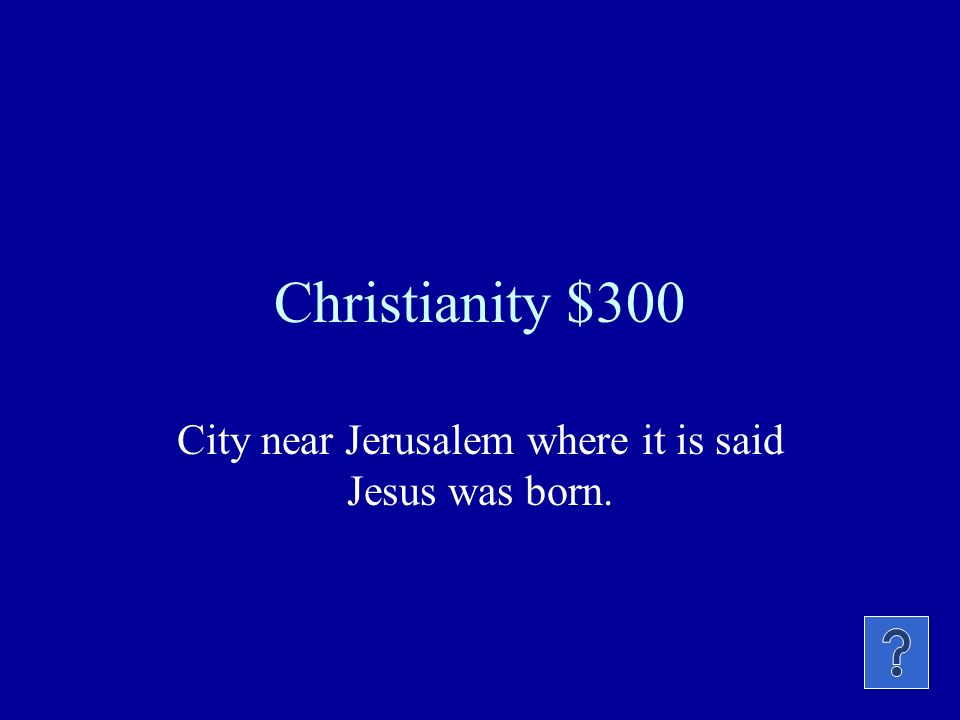 Christianity $200 Holy book of this religion, made up of the old and new testament.