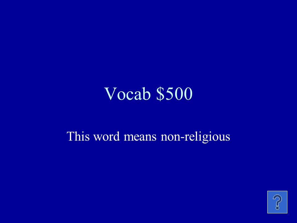Vocab $400 This religion believes in following a guru.