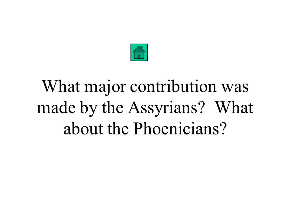 What did the Babylonians and the Israelites have in common? Answer: They both lived according to a code of laws; one was Hammurabis Laws and one follo