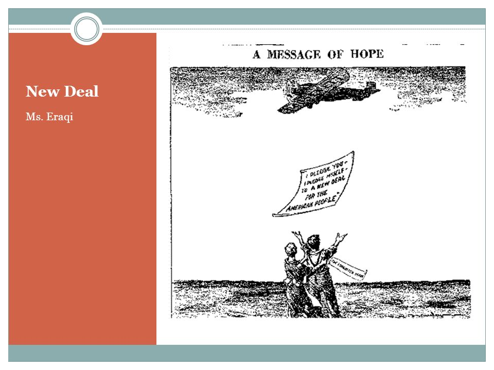 New Deal Ms. Eraqi