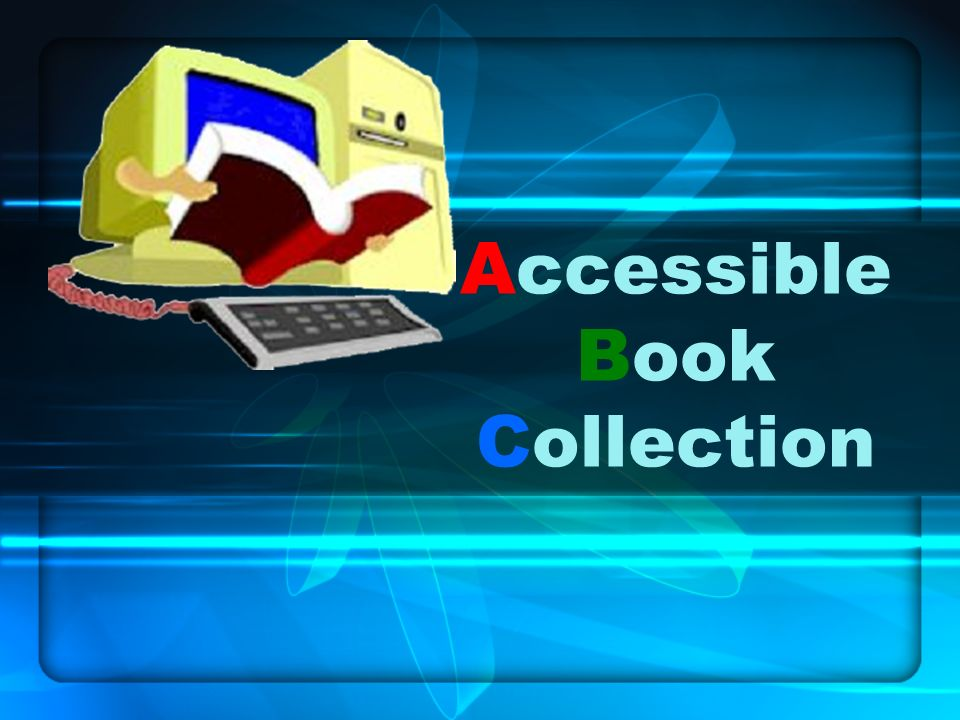 Accessible Book Collection