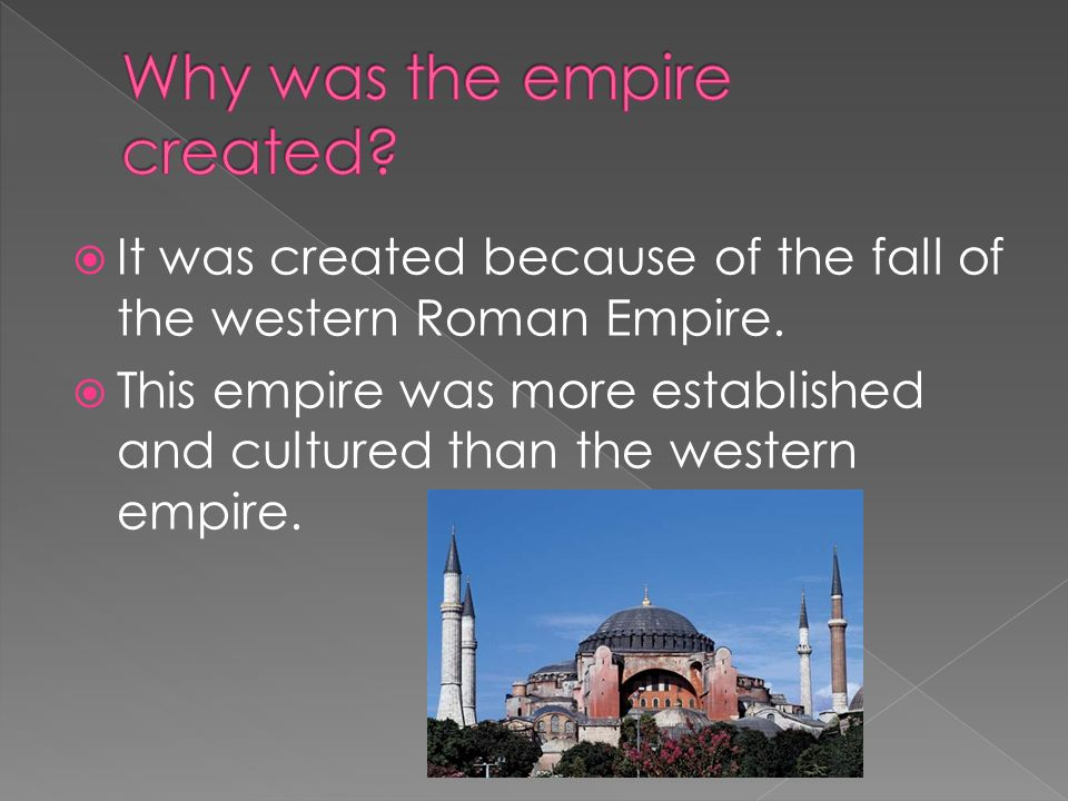 The Empire ended on May 29 th, 1453.