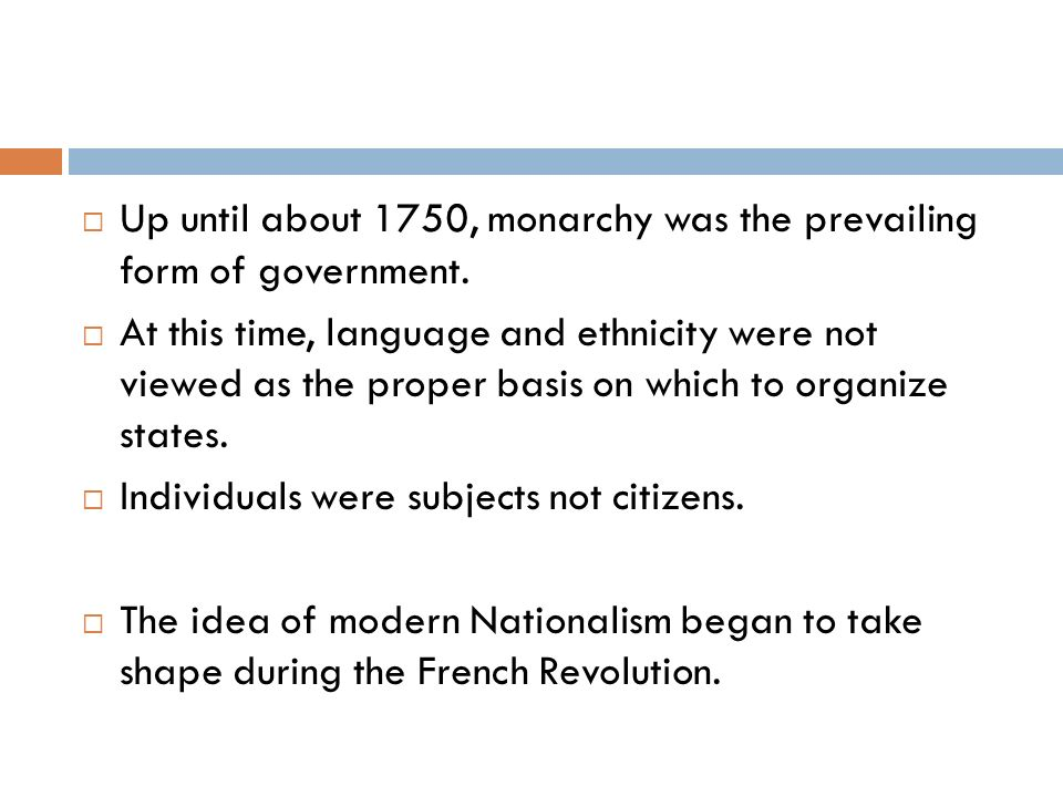 By about 1914, things began to change.