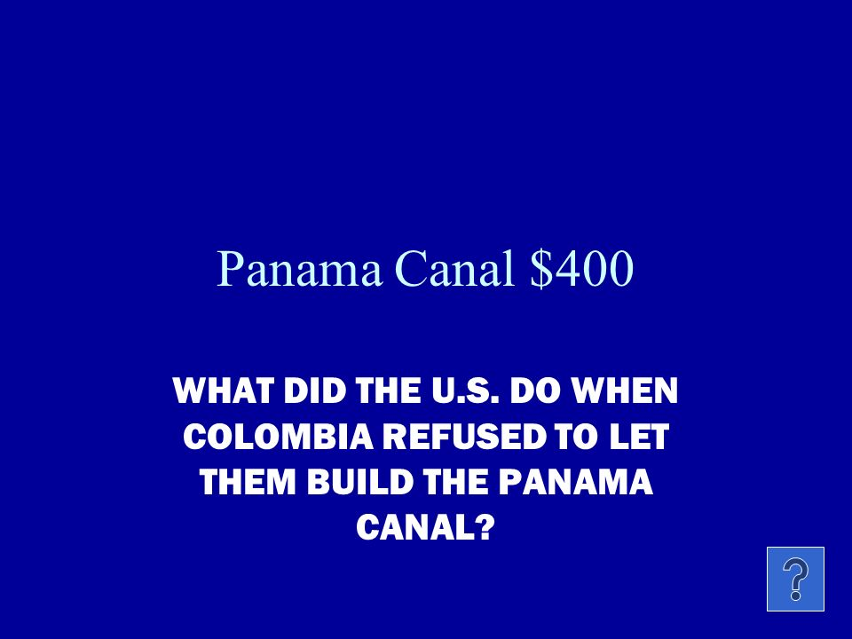 Panama Canal $300 WHY DID 20,000 FRENCHMEN DIE BUILDING THE PANAMA CANAL