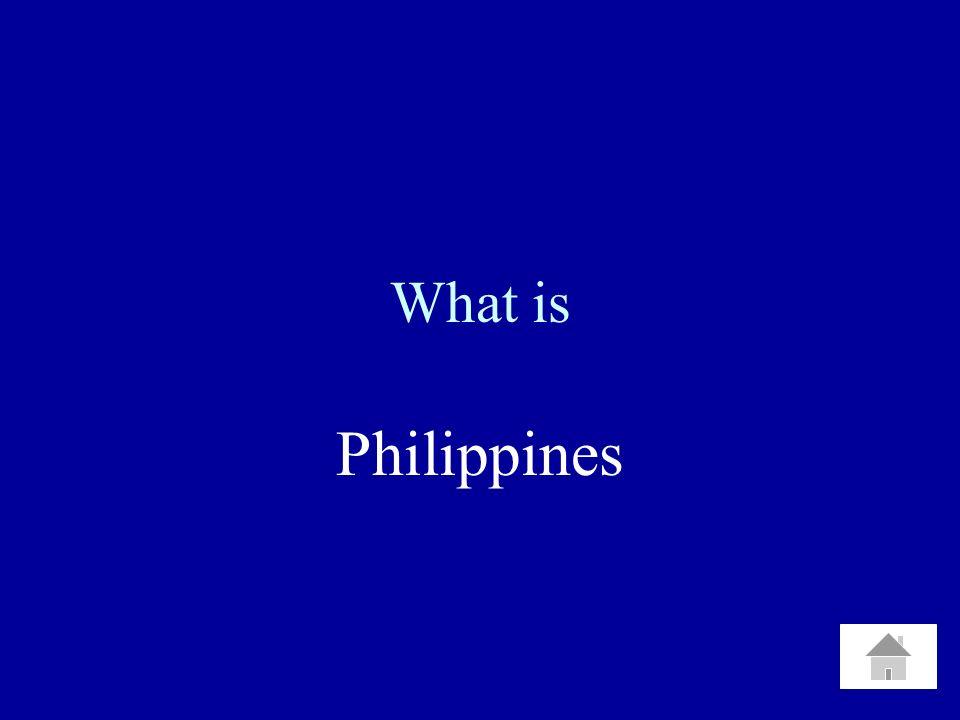 What is Cuba Puerto Rico Guam Philippines