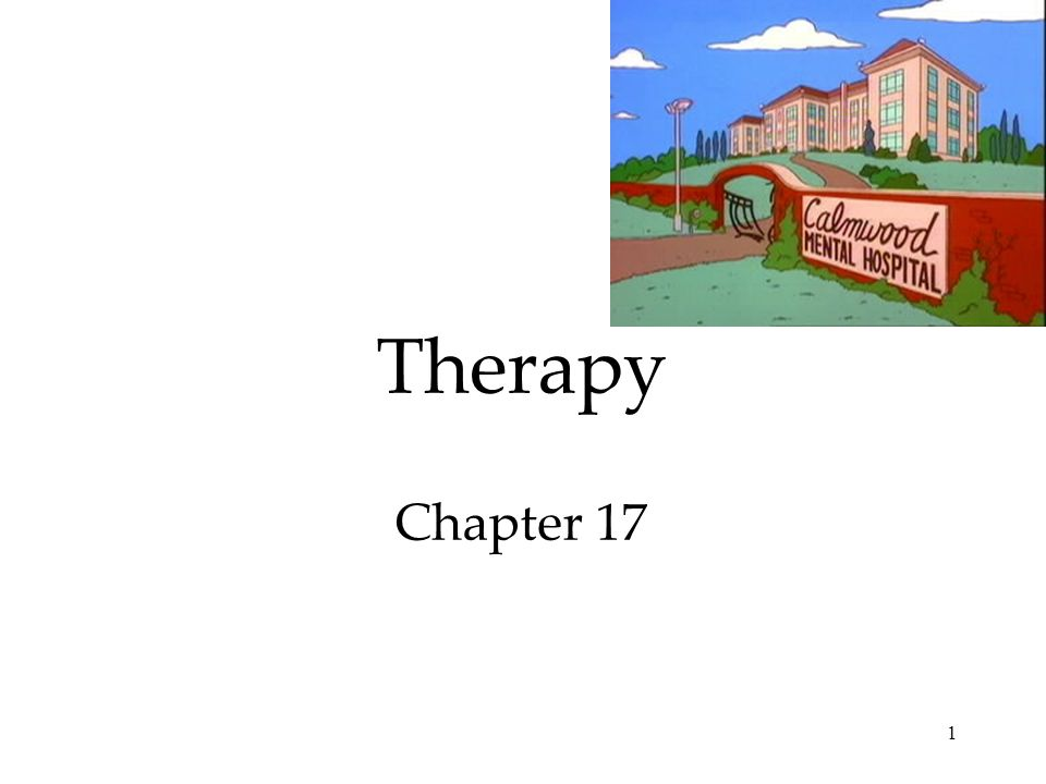 1 Therapy Chapter 17