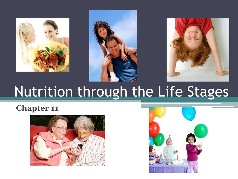 Nutrition through the Life Stages Chapter 11