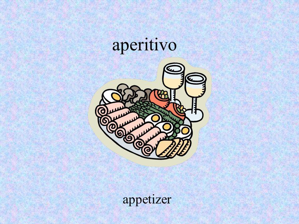 aperitivo appetizer