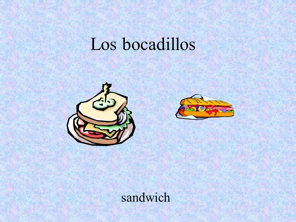 Los bocadillos sandwich