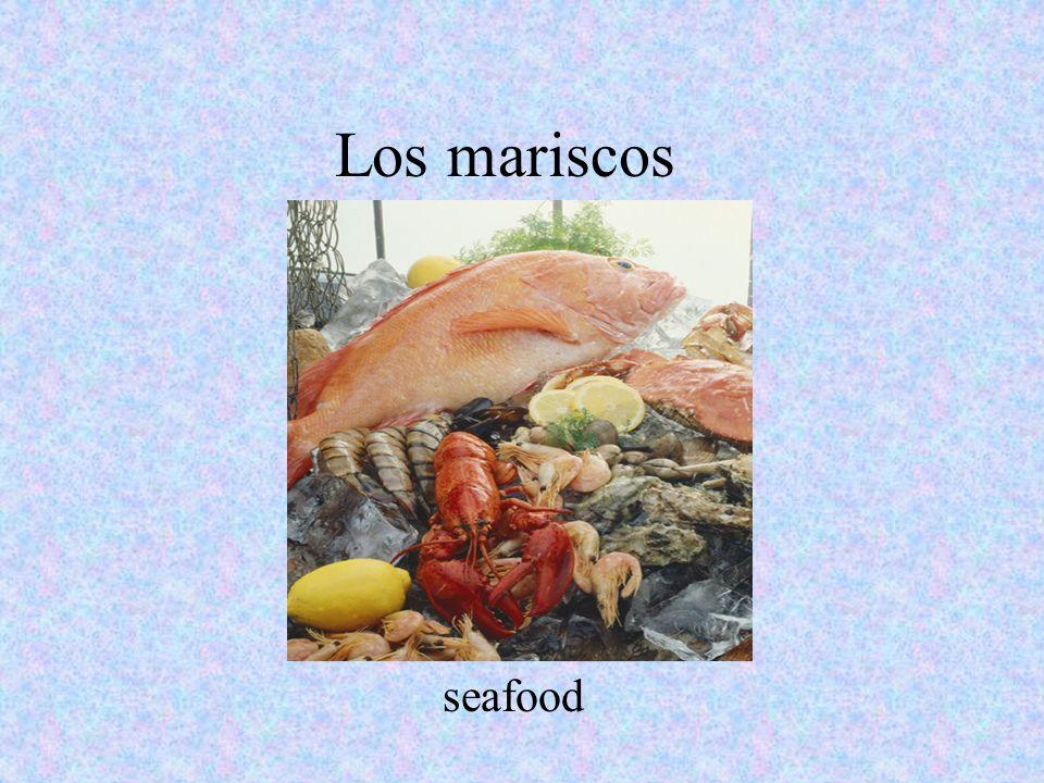Los mariscos seafood