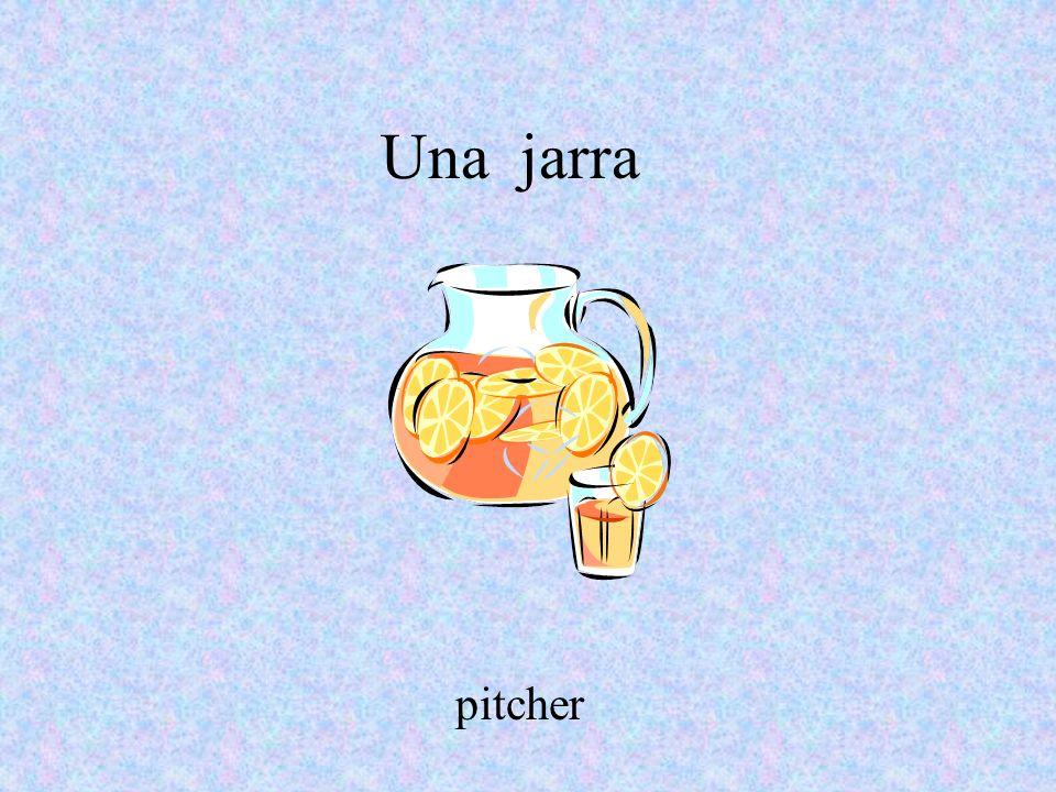 Una jarra pitcher