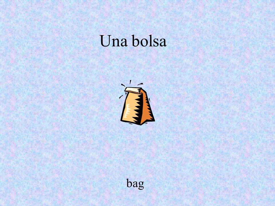 Una bolsa bag