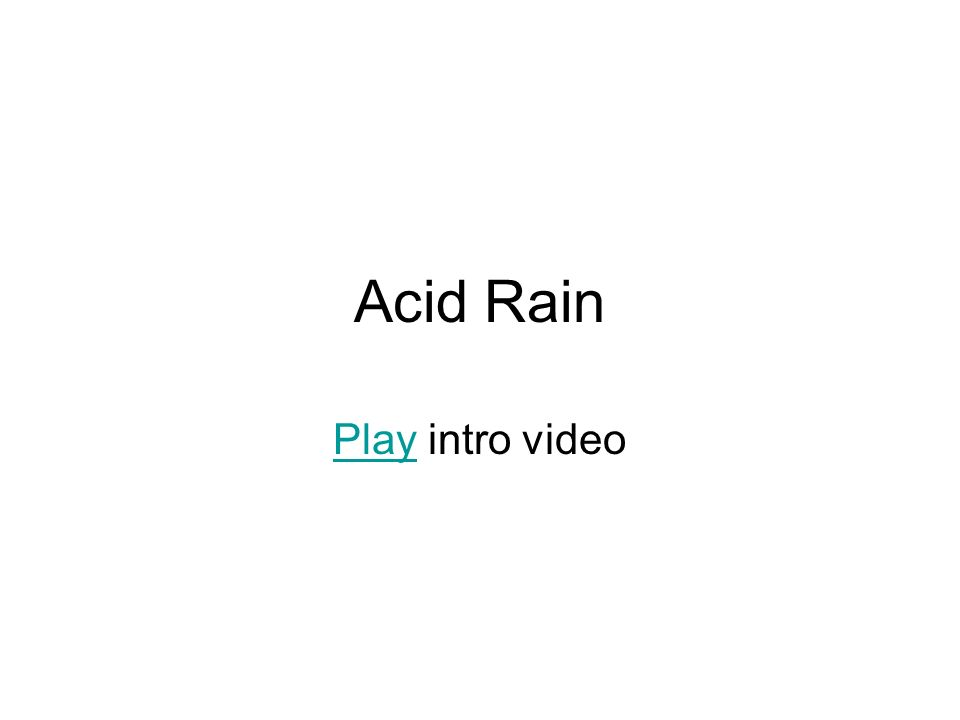 Acid Rain PlayPlay intro video
