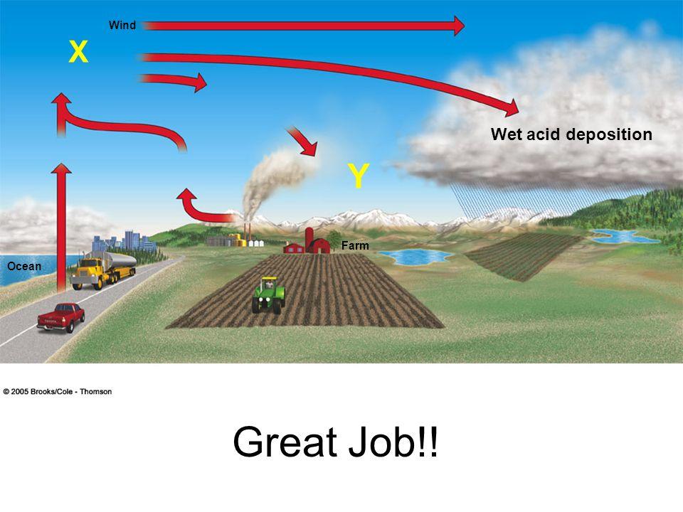 Wind Ocean Farm Great Job!! X Y Wet acid deposition