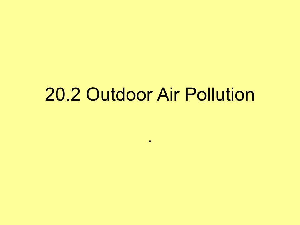 20.2 Outdoor Air Pollution.