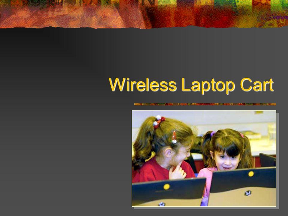 Wireless Laptop Cart