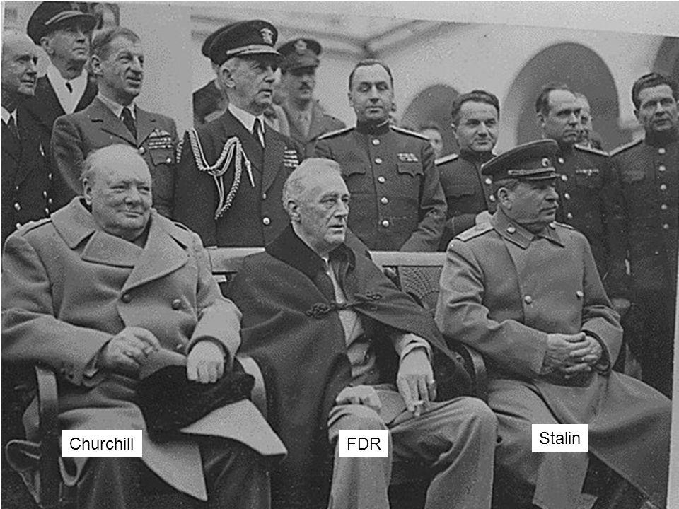 ChurchillFDR Stalin