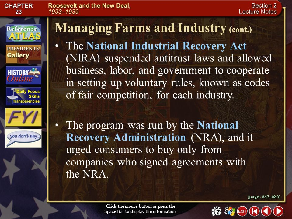 Section 2-17 Large commercial farmers who raised one crop profited more than small farmers who raised several products. Managing Farms and Industry (c