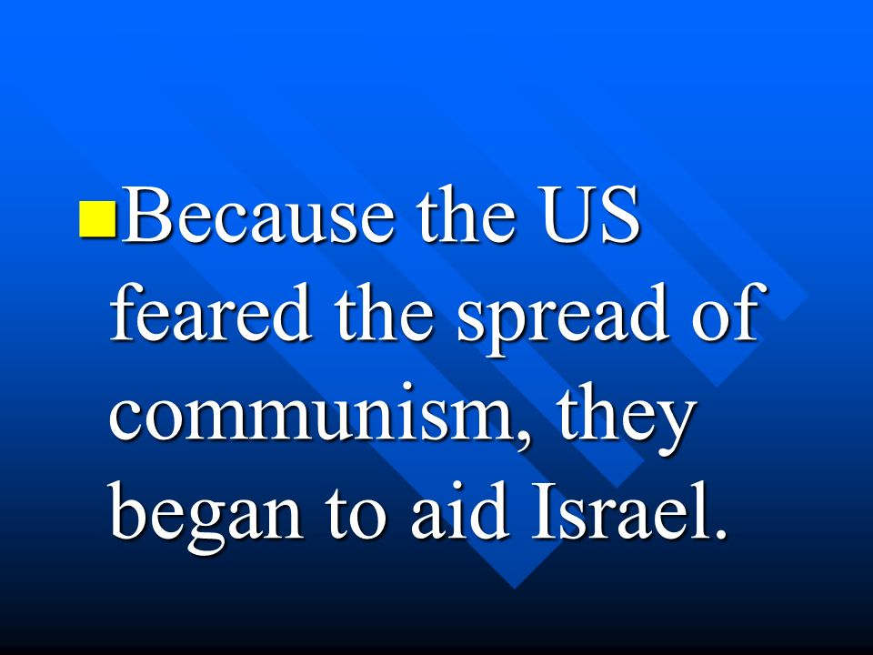 In the late1960s the PLO was formed.