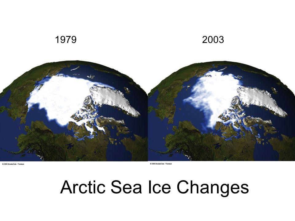 Arctic Sea Ice Changes 19792003