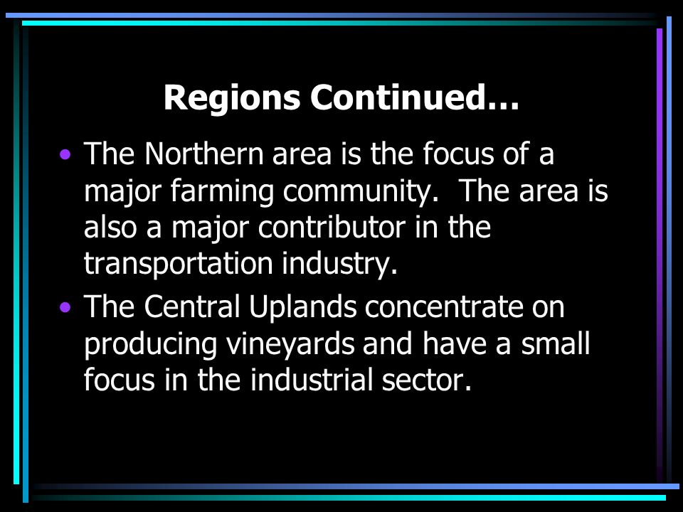 Regions Germany as a whole can be divided into three major geographic regions: the low-lying North German plain, the central German uplands, and in th