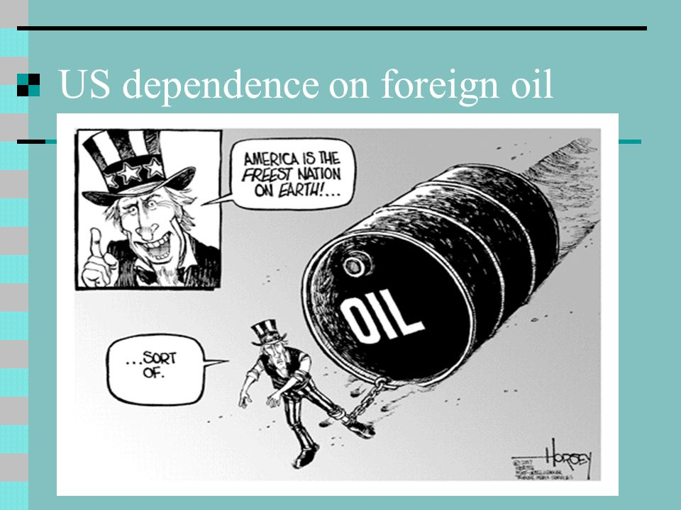 US dependence on foreign oil