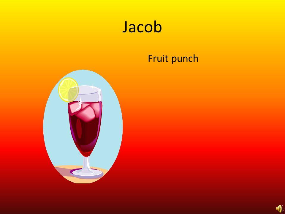 Jacob Fruit punch