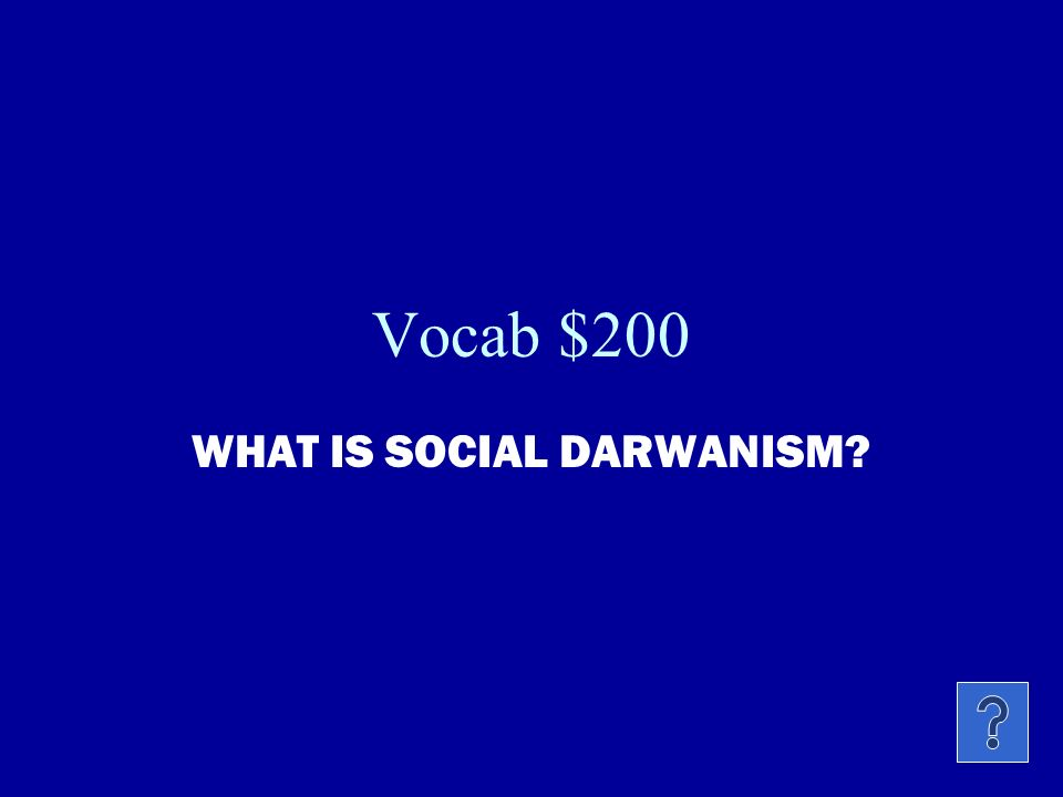 Vocab $100 THIS WAS A TERM USED TO IDENTIFY SUCH MEN AS CARNEGIE, ROCKERFELLER, AND MORGAN.
