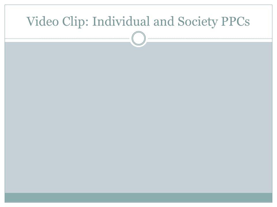Video Clip: Individual and Society PPCs