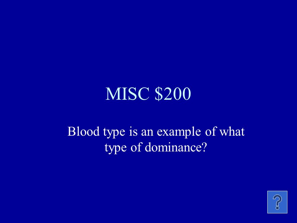 MISC $100 A heterozygous organism is also called: Pure bred or hybrid