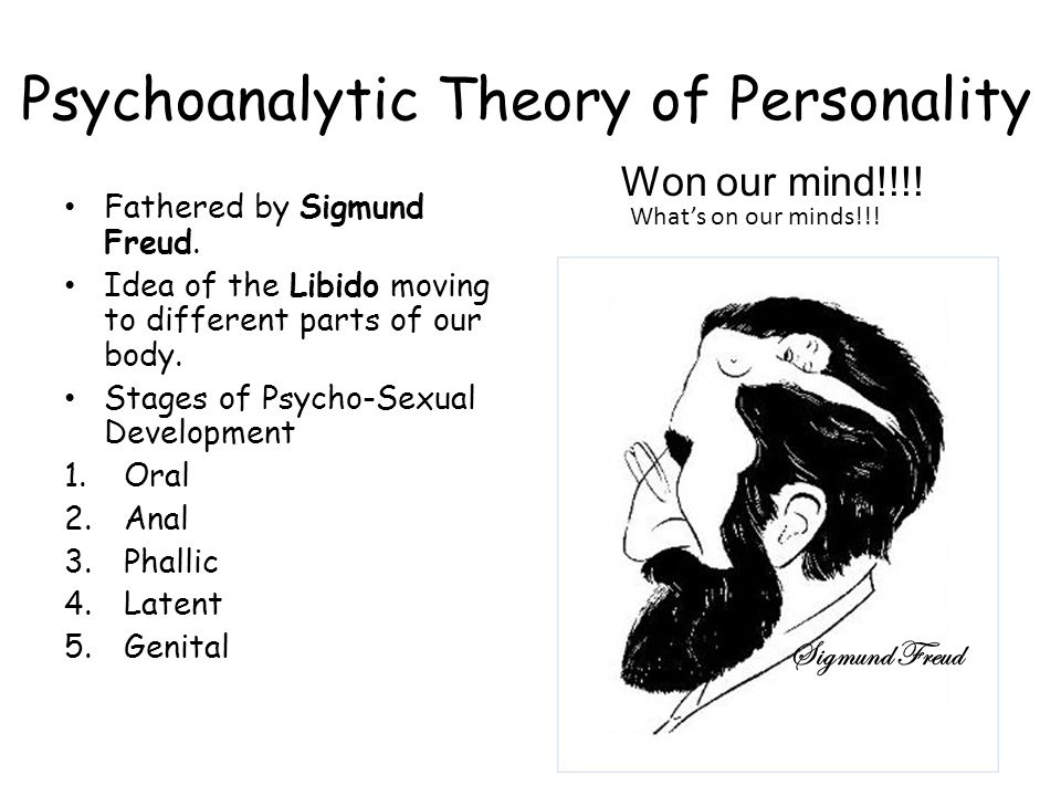 essays on freuds theory of personality