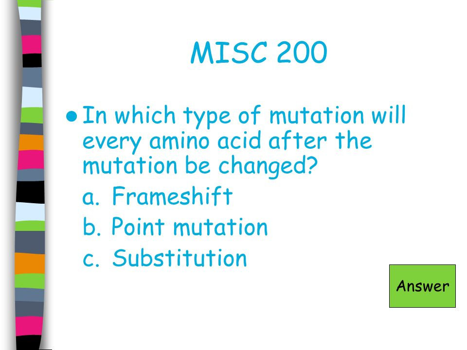 MISC 300 Arrange the following in order from largest to smallest in size: nucleotide, chromosome, cell, DNA, nucleus Answer
