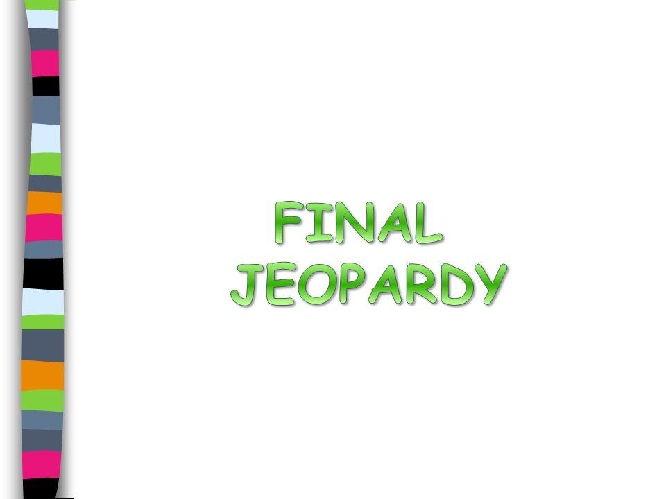 Final Jeopardy Use the following tRNA strand to write the corresponding DNA strand, mRNA strand, and amino acid sequence.