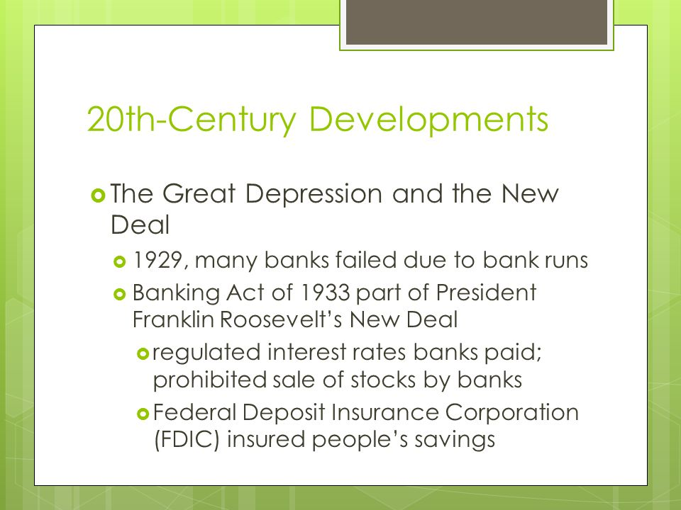 Financial Institutions in the United States Type 1: Commercial Banks Privately owned commercial banks are oldest type of banks initially created to provide business loans today, checking and savings accounts, loans, investments, credit cards All national, about 16 percent of state commercial banks belong to the Fed