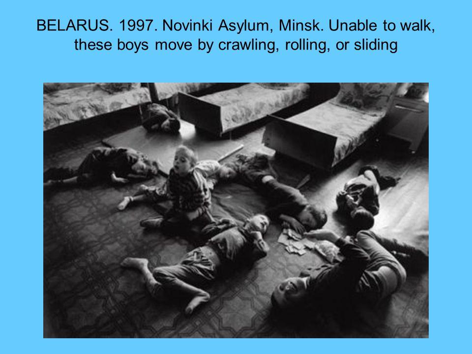 BELARUS. 1997. Novinki Asylum, Minsk.