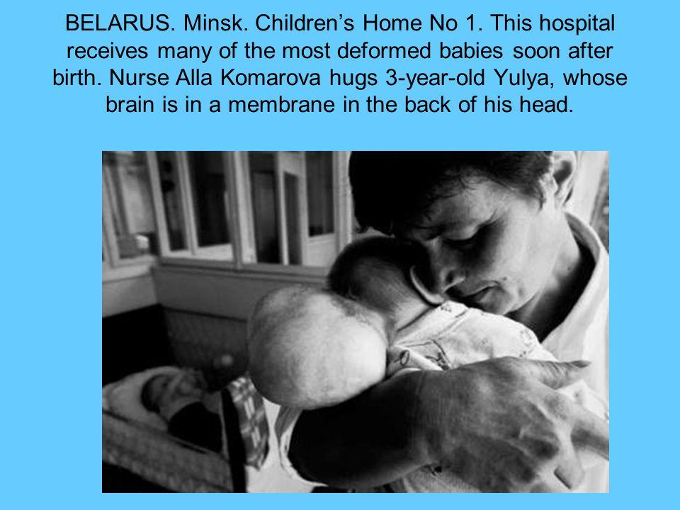 BELARUS. Minsk. Childrens Home No 1.