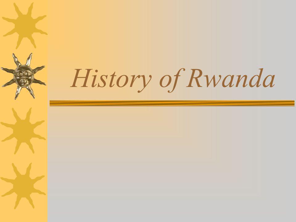 1890 Rwanda is colonized by Germany