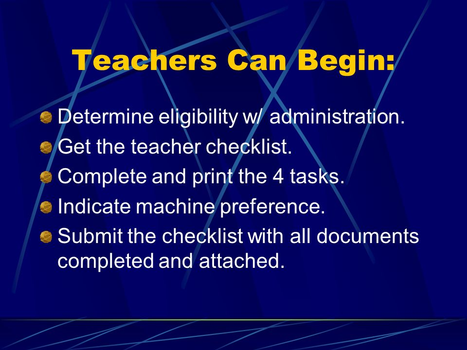 CV Alternative Tech Multiple teachers may pool TTI money to obtain items more expensive than $1200.