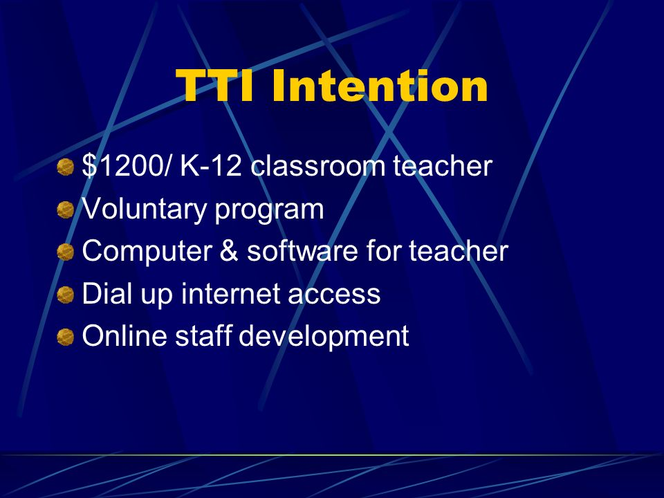 TTI Helping Hand Whenever you see the helping hand: …it means there are supporting documents posted on the CV TTI web site. http://www.macomb.k12.mi.u