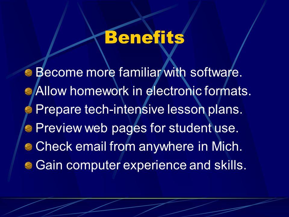 TTI Intention $1200/ K-12 classroom teacher Voluntary program Computer & software for teacher Dial up internet access Online staff development