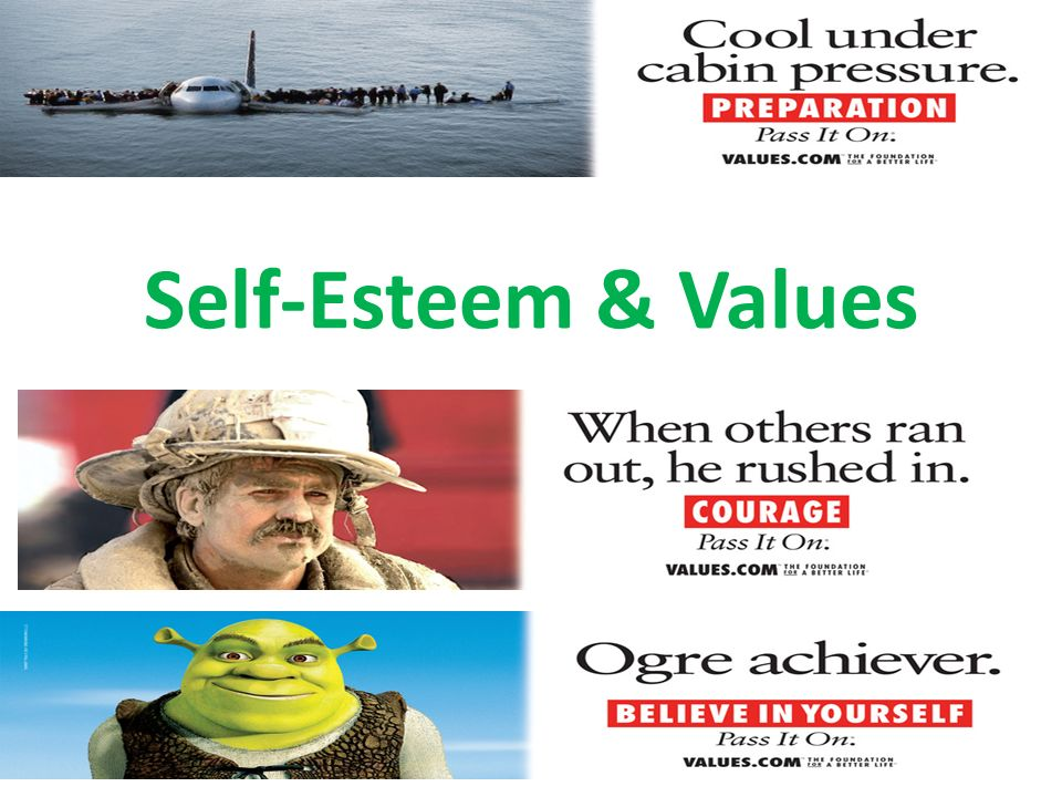Self-Esteem & Values
