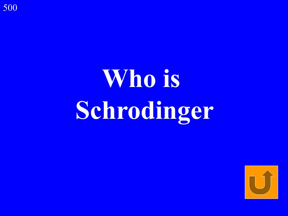 Who is Schrodinger 500