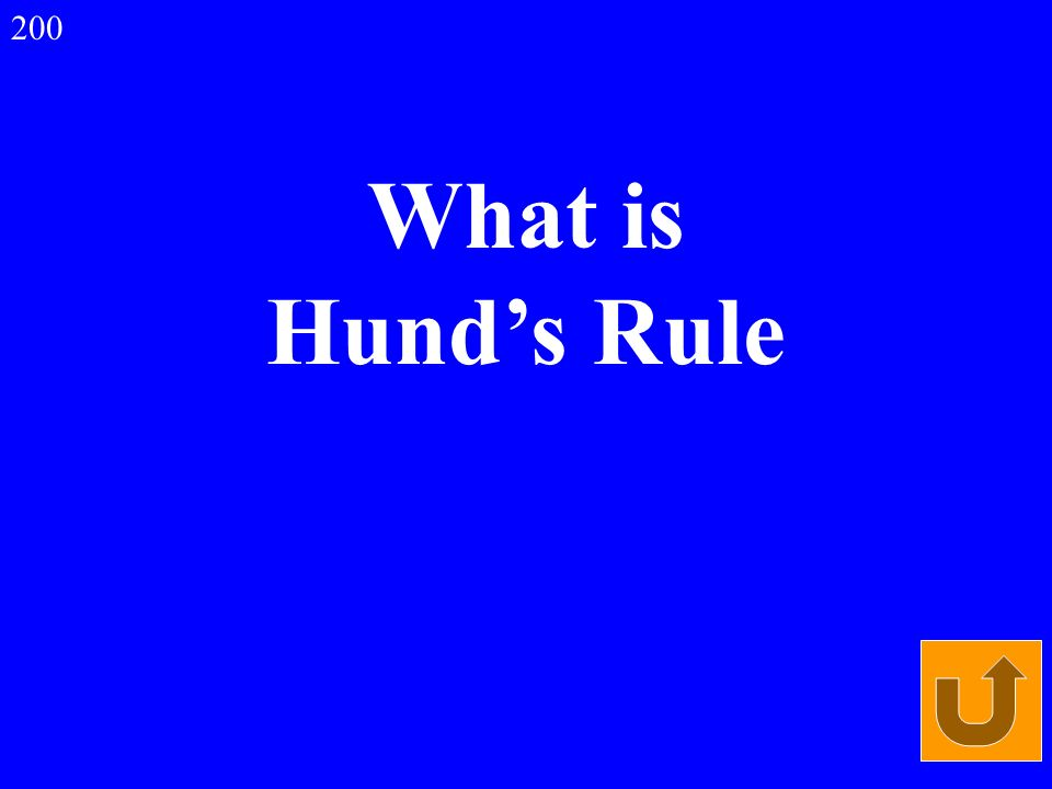 What is Hunds Rule 200